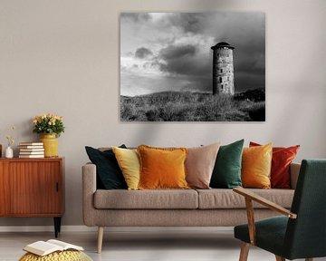 Watertoren Domburg (Zeeland - Nederland) van Rick van der Poorten