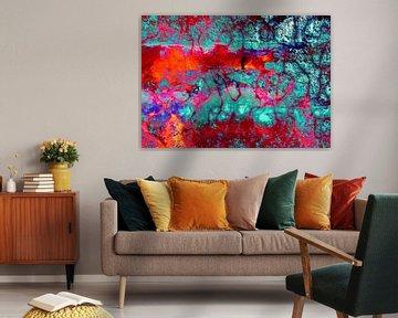 Lava colors van PictureWork - Digital artist