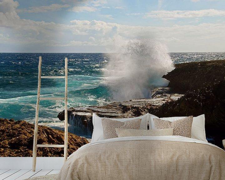 Beispiel fototapete: Boca Tabla Curaçao von Discover Dutch Nature