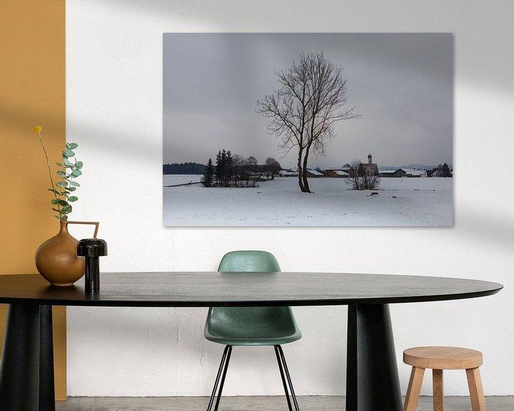 Sfeerimpressie: Winter in de Allgäu van Leanne lovink