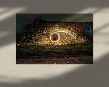 lightpainting von Lars Mol