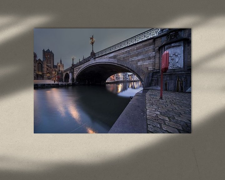 Sfeerimpressie: Michiels-brug van Marcel Derweduwen