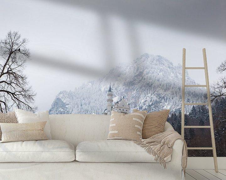 Beispiel fototapete: Schloss Neuschwanstein von Leanne lovink