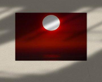 Prachtige zonsondergang boven de Noordzee van AGAMI Photo Agency
