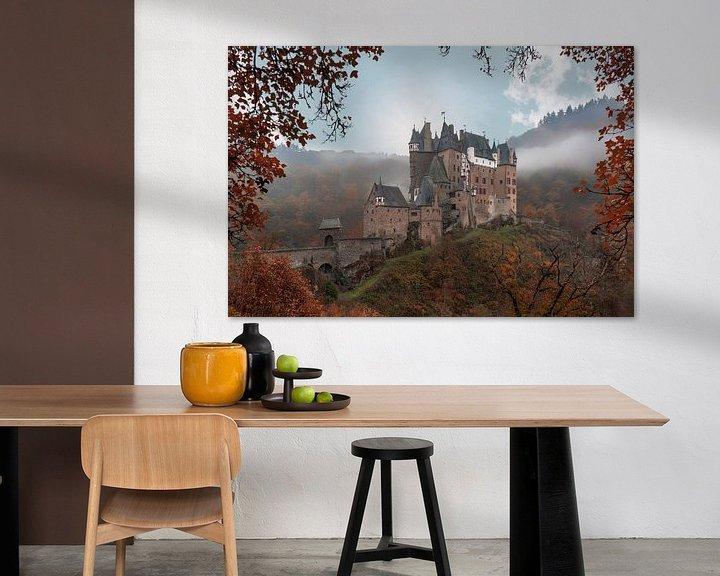 Beispiel: Burg Eltz von Steven Dijkshoorn