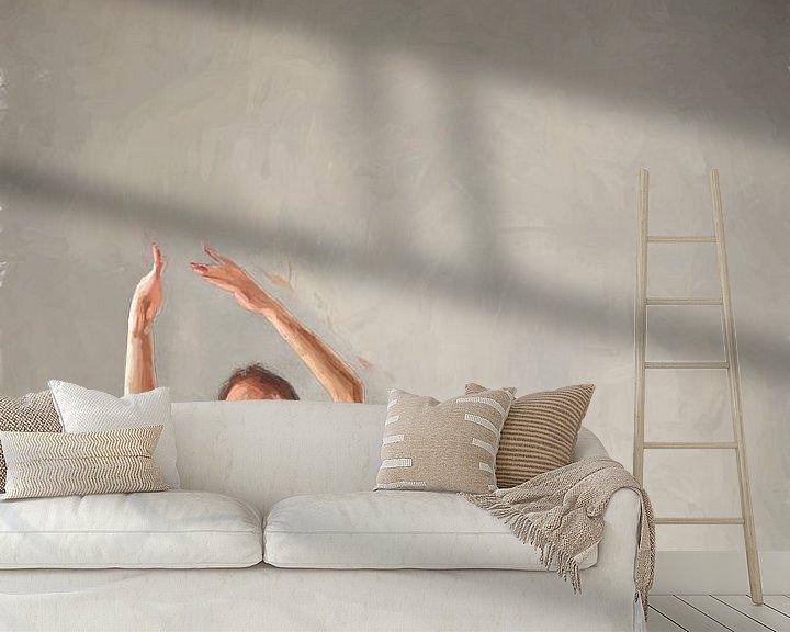 Sfeerimpressie behang: Ballerina III van Arjen Roos