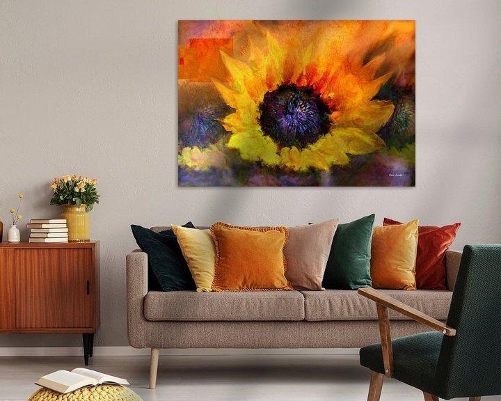 Sfeerimpressie: Sunflower in Art van Vera Laake
