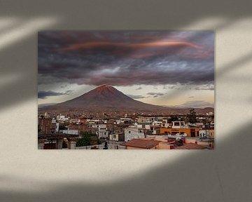 Mount Misti - Arequipa van Luc Buthker