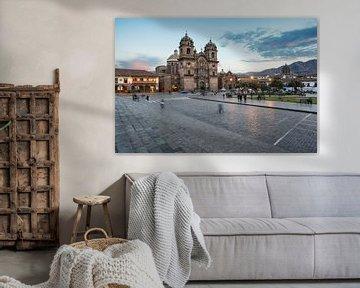 Plaza de Armas Cusco van Luc Buthker