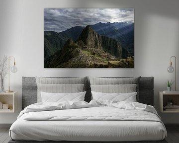 Machu Picchu van Luc Buthker