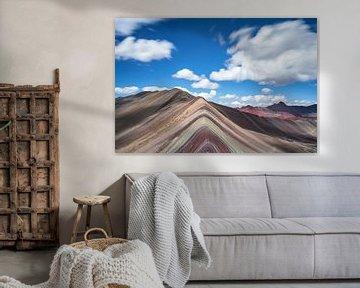 Rainbow mountain van Luc Buthker
