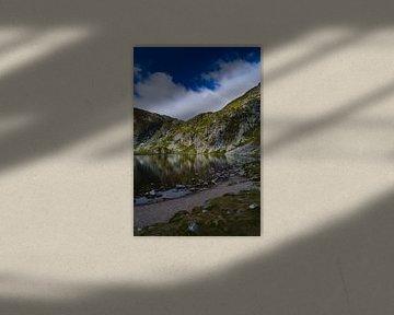 Water reflectie van Lizet Wesselman