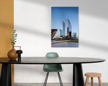Delftse Poort Rotterdam von Luc Buthker