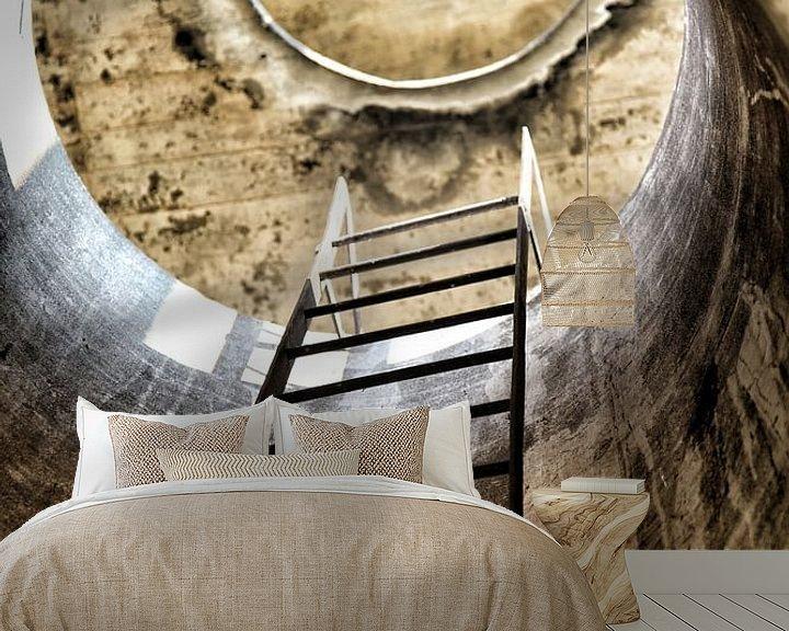Beispiel fototapete: Stairway to heaven von Nart Wielaard