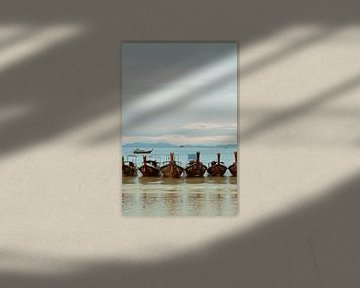 Longtail boats van Records of Mickey