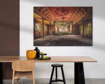 Die verlassene Tanzhalle von Frans Nijland