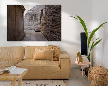Gezellig steegje in Dubrovnik 2 van Kristof Ven