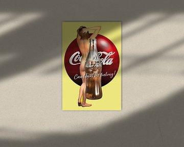 Pop Art – Coca Cola Can't beat the feeling von Jan Keteleer