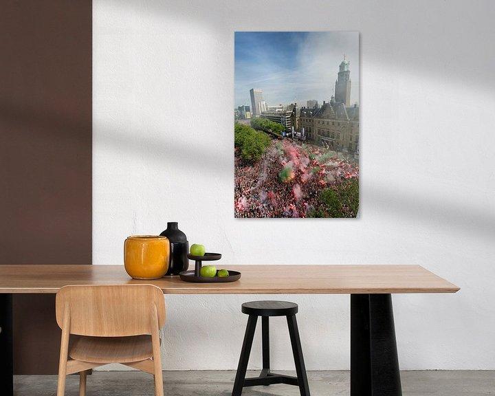 Sfeerimpressie: Feyenoord landskampioenschap van Luc Buthker