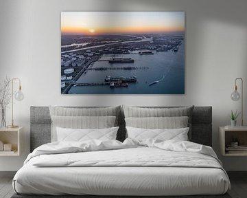 Port of Rotterdam van Luc Buthker