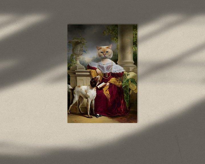 Sfeerimpressie: Portret van Alida van Marja van den Hurk