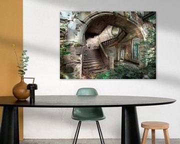 Kings castle stairs van Olivier Photography