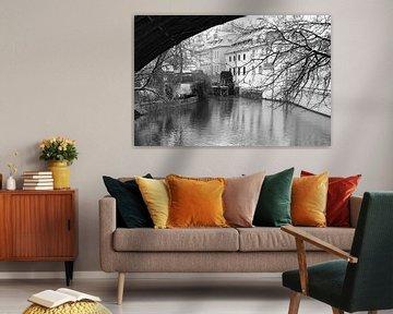 Praag, Karelsbrug, Waterrad van Rene du Chatenier