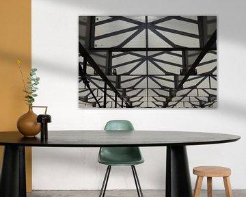 Decke der Arena in 's-Hertogenbosch von Rob van Eerd