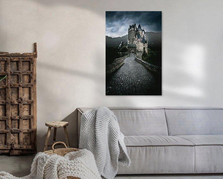 Sfeerimpressie: kasteel eltz van Rubin Versigny