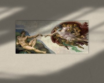 Die Erschaffung von Adam, Michelangelo