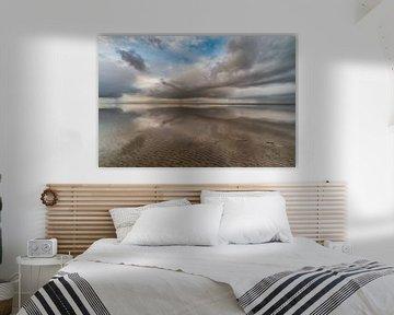 Waddenzee 4 van Peter Bijsterveld