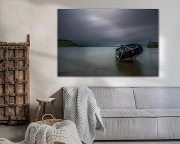 Empty boat van Peter Bijsterveld