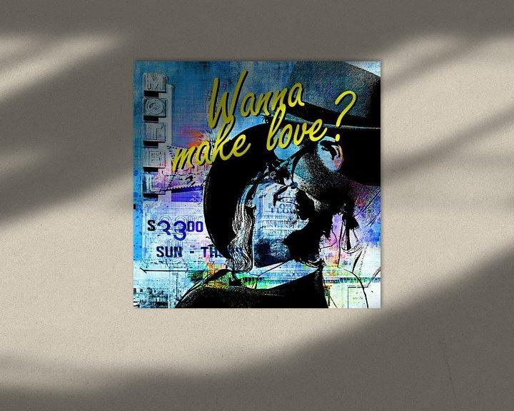 Beispiel: Wanna make love? von PictureWork - Digital artist