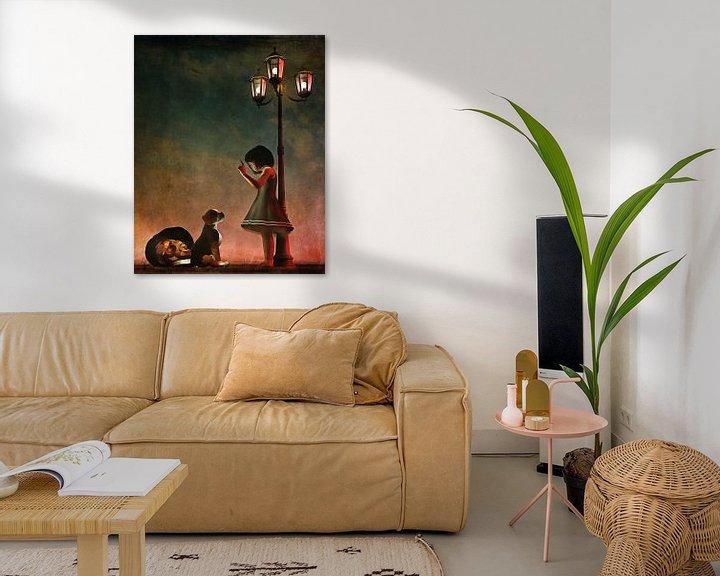Sfeerimpressie: Kinderen Kunst: Stoute  hond van Jan Keteleer