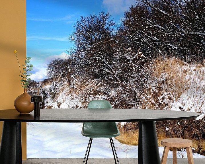Beispiel fototapete: Winter 2018 von Ostsee Bilder