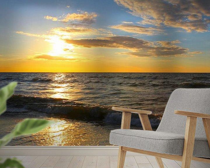 Beispiel fototapete: Ein toller Abend von Ostsee Bilder