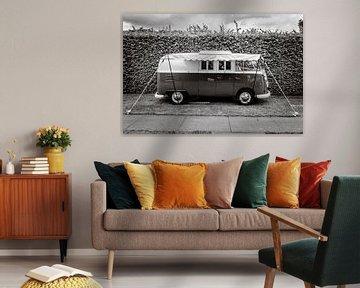 Volkswagen Typ 2 (T1) Transporter Kombi oder Microbus Wohnmobil von Sjoerd van der Wal