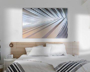 Abstract staal perspectief Luik von Dennis van de Water
