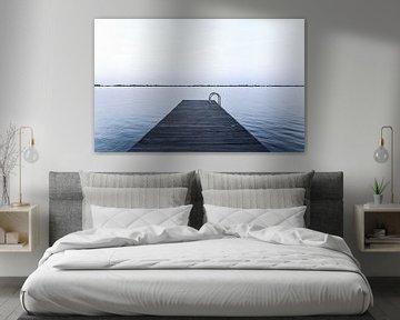 Steiger aan het Sneekermeer van Jo Pixel