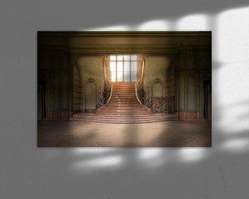 eindrucksvolle verlassene Treppe von Kristof Ven