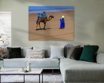 Gemeinsam am Strand von Agadir von brava64 - Gabi Hampe
