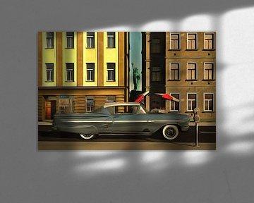 Retro – Klassiek Chevrolet Impala in New York