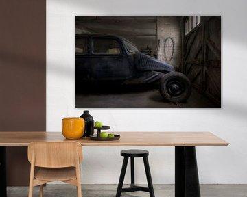 Oldtimer in einer Garage von Kristof Ven
