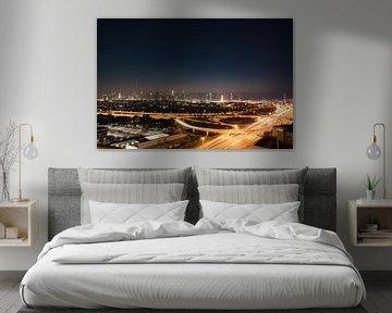 Dubai skyline von Olivier Peeters