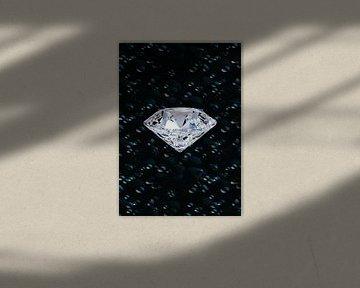 diamond in de ruimte von Gerrit Neuteboom