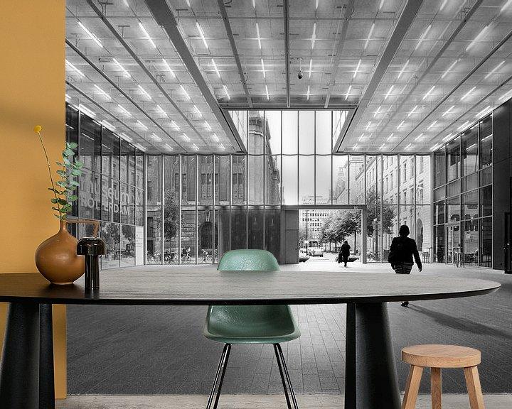 Sfeerimpressie behang: Timmerhuis | Rotterdam van Menno Verheij / #roffalove
