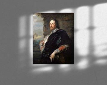 Porträt von Nicolas Lanier, Anton van Dyck