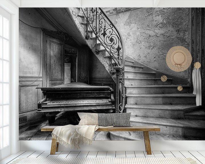 Beispiel fototapete: Duotone - Piano von Angelique Brunas