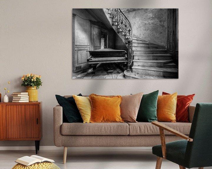 Beispiel: Duotone - Piano von Angelique Brunas