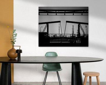 Wandeling over de brug. von Dana de Boer